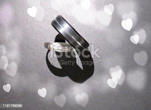 istock Wedding Bands 1191799099