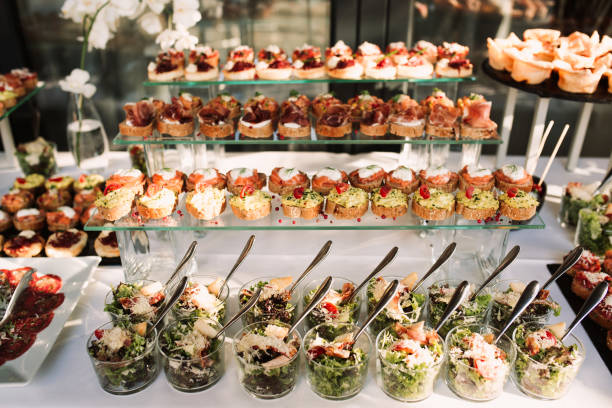 banquet de mariage - Photo