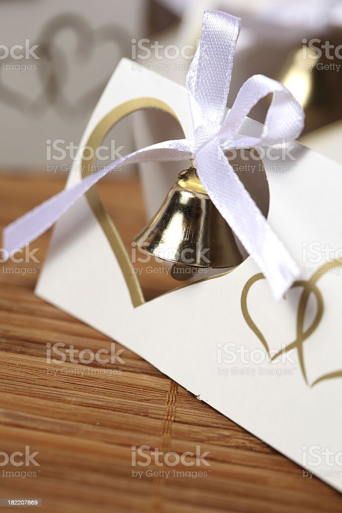 wedding bells royalty-free stock photo
