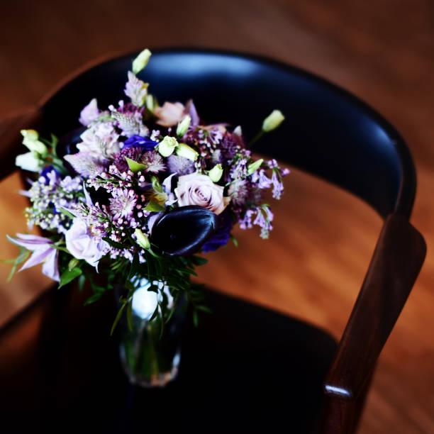 Wedding bouquet, bridal accessory. stock photo