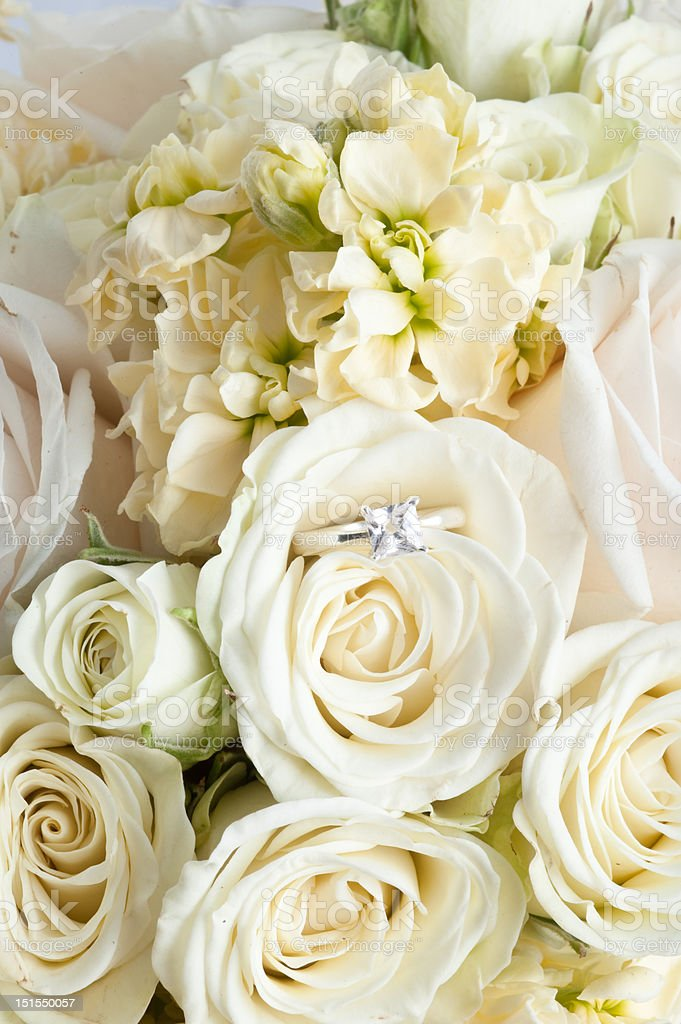 wedding bouquet clouse-up royalty-free stock photo