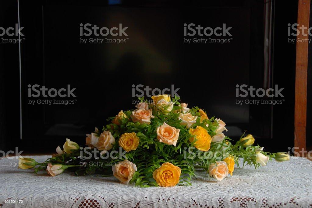 Hochzeit Blumenstrauß Lizenzfreies stock-foto