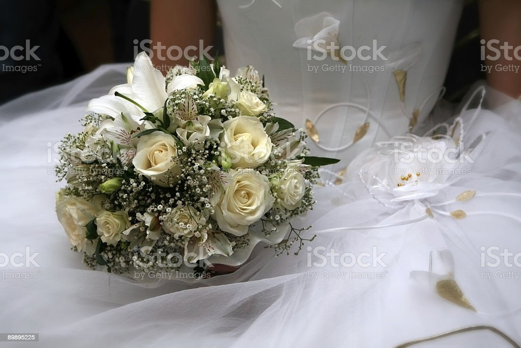 Свадебный букет Стоковые фото Стоковая фотография
