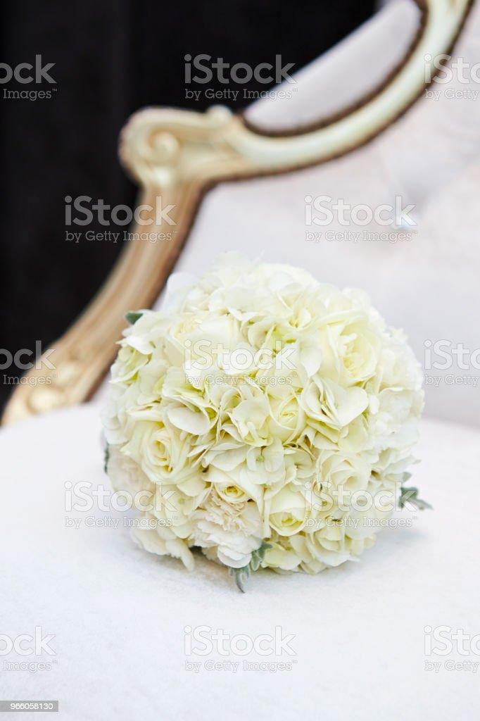 Bröllop bukett - Royaltyfri Blomma Bildbanksbilder