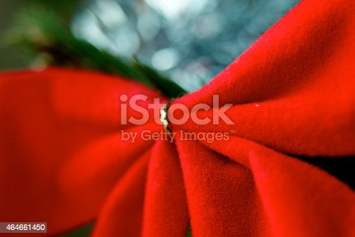 istock Wedding Bow Decoration Ribbon 464661450