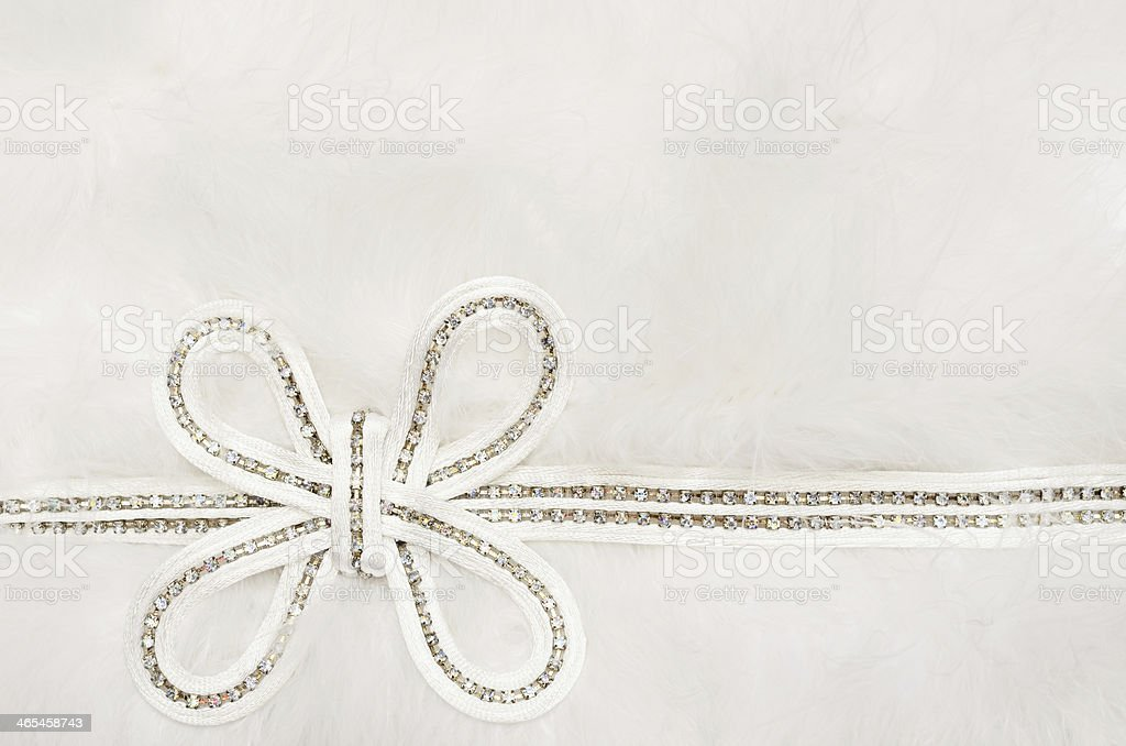 Wedding bow royalty-free stock photo