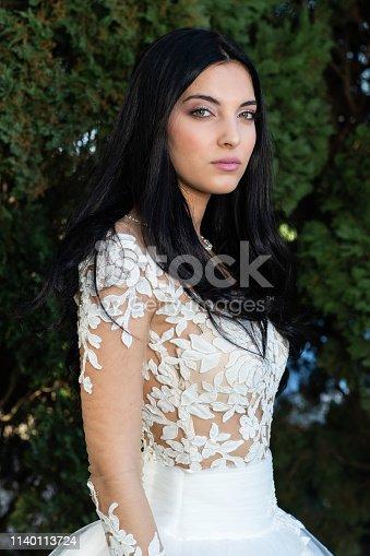 506798692istockphoto Wedding bride in outdoor 1140113724