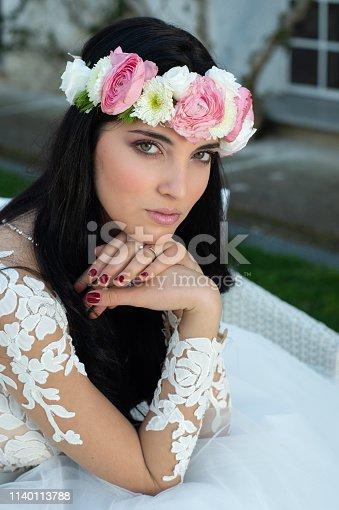 506798692istockphoto Wedding bride in outdoor 1140113788