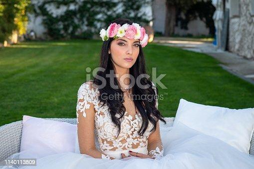 506798692istockphoto Wedding bride in outdoor 1140113809