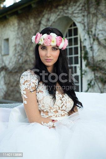 506798692istockphoto Wedding bride in outdoor 1140113896