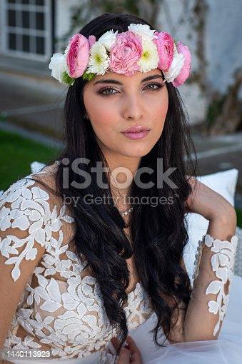 506798692istockphoto Wedding bride in outdoor 1140113923