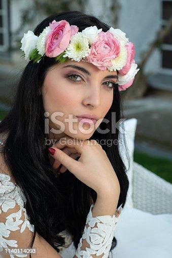 506798692istockphoto Wedding bride in outdoor 1140114093