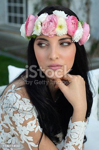 506798692istockphoto Wedding bride in outdoor 1140114147