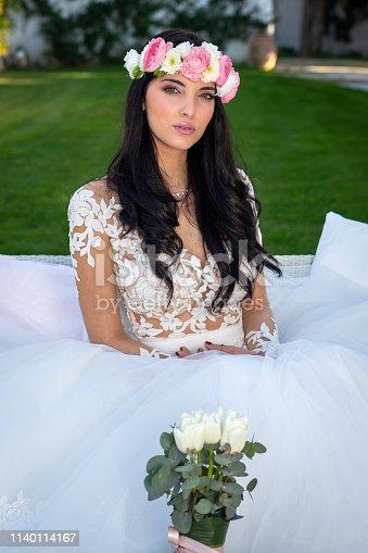 506798692istockphoto Wedding bride in outdoor 1140114167