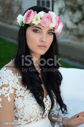 506798692istockphoto Wedding bride in outdoor 1140114771