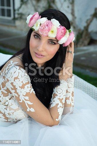 506798692istockphoto Wedding bride in outdoor 1140114961