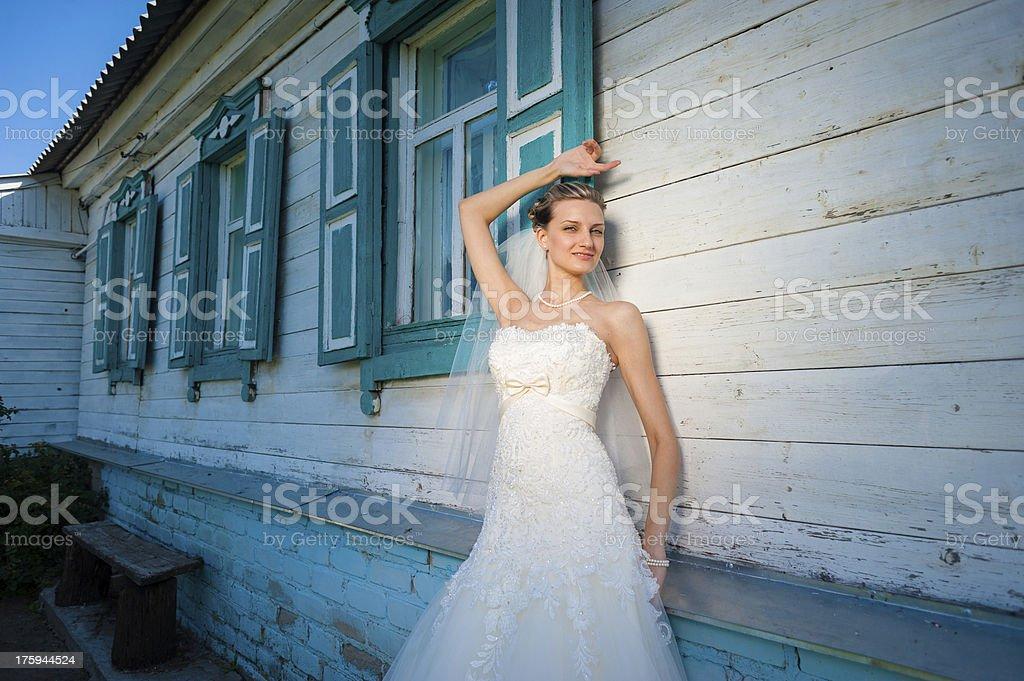 Wedding  Bride royalty-free stock photo