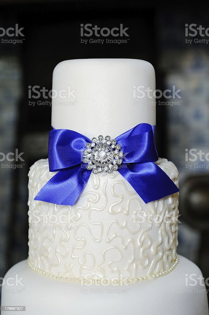 Pastel de bodas en primer plano foto de stock libre de derechos