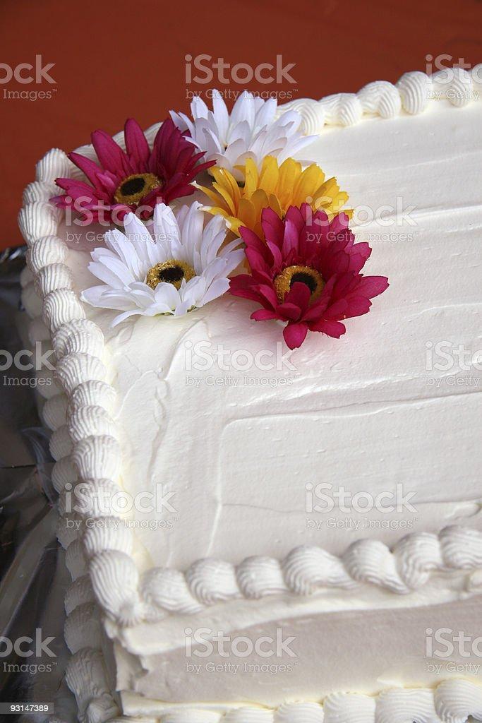 Wedding Cake Detail royalty-free stock photo