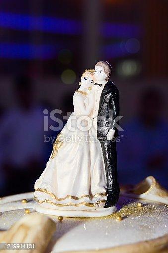 172144035 istock photo Wedding Cake - Game Over 1219914131