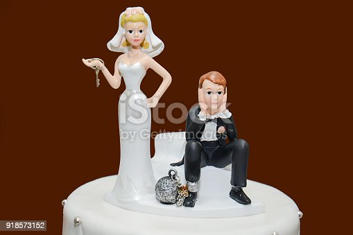 istock Wedding Cake - Game Over 918573152