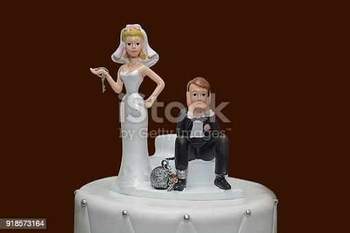 172144035 istock photo Wedding Cake - Game Over 918573164