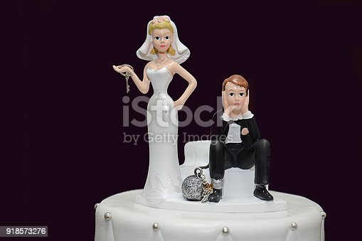 istock Wedding Cake - Game Over 918573276
