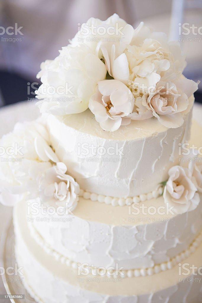 Bolo de casamento. - foto de acervo