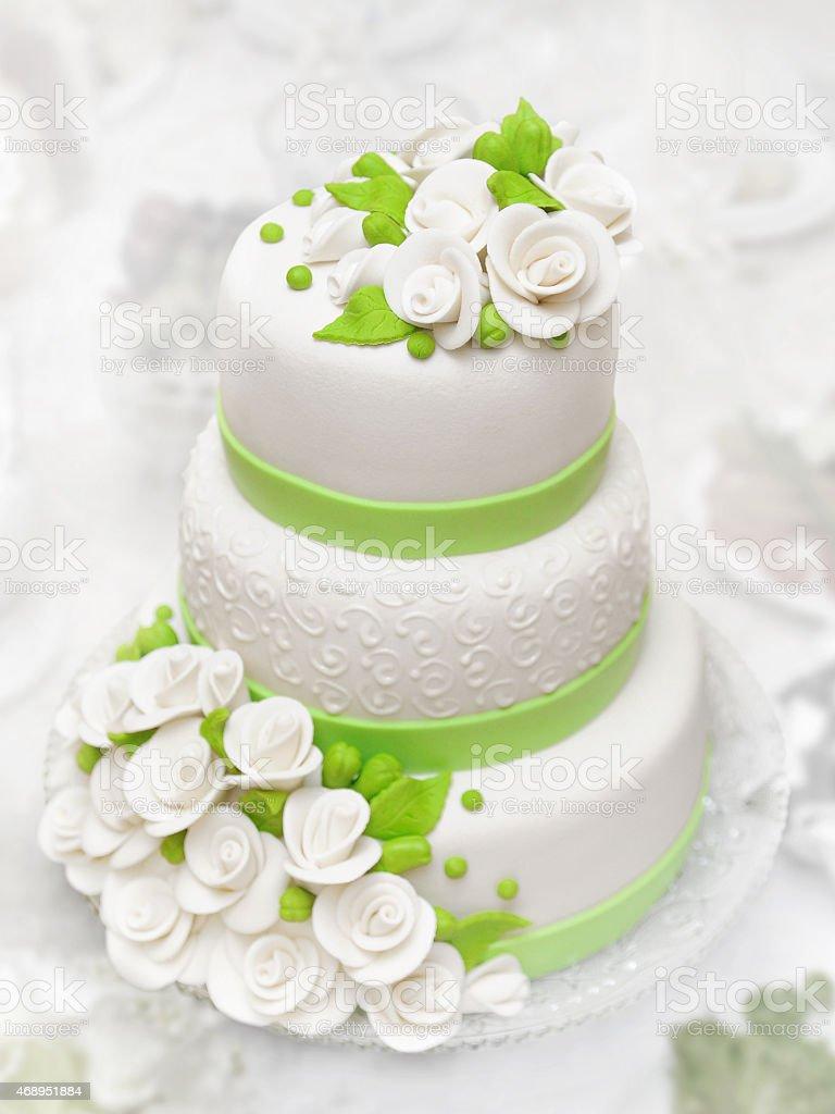 Wedding cake. stock photo