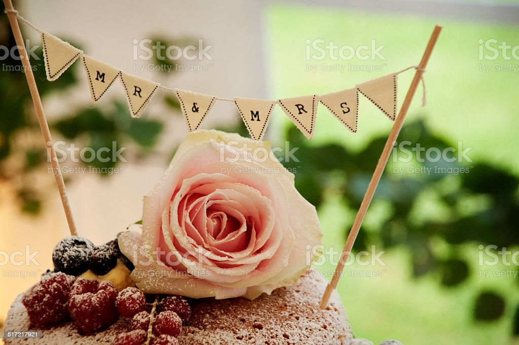 Hochzeitstorte – Foto