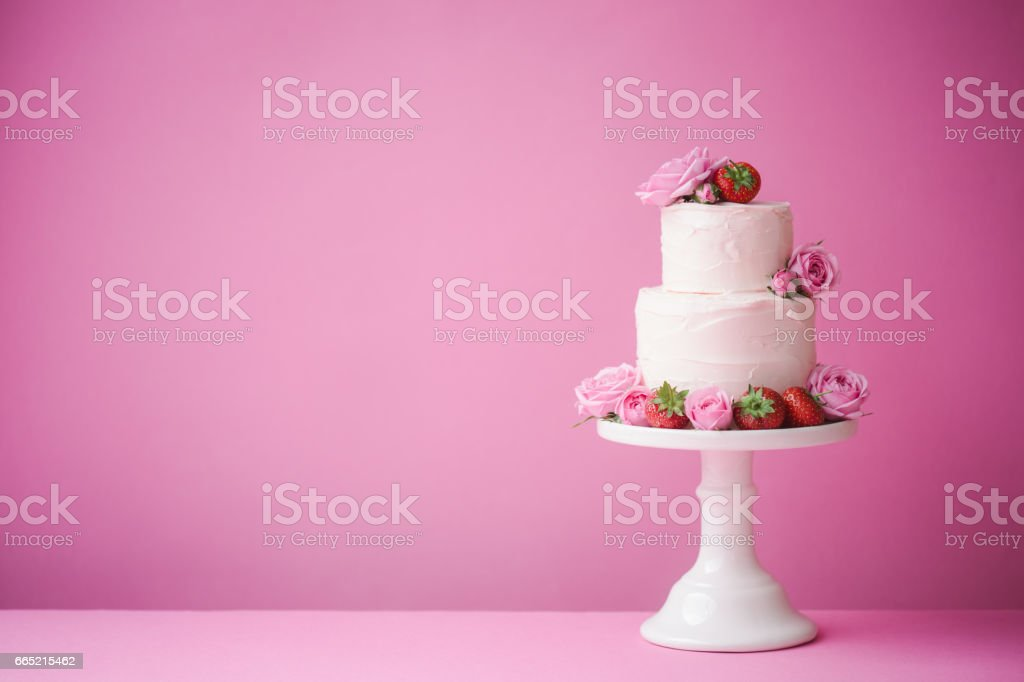Wedding cake - foto de acervo