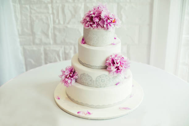 Wedding cake Wedding cake. Wedding details bolos stock pictures, royalty-free photos & images