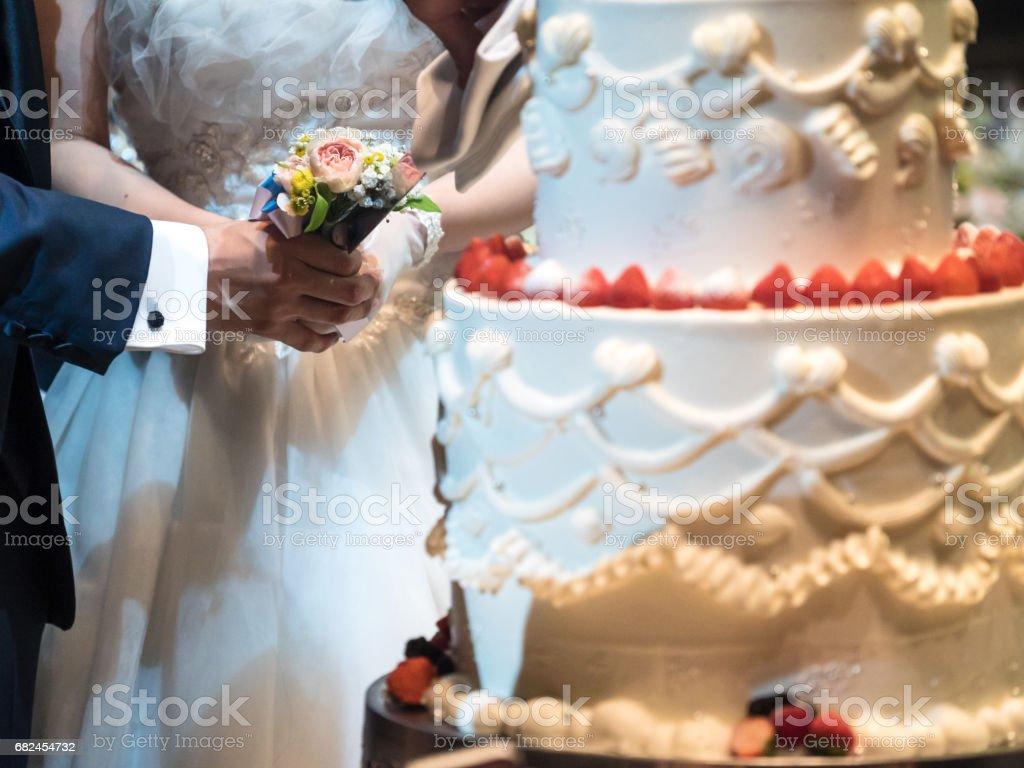 Düğün pastası royalty-free stock photo