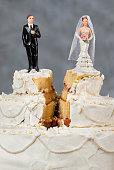 istock Wedding cake split 479913538