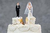 istock Wedding cake split 479918254