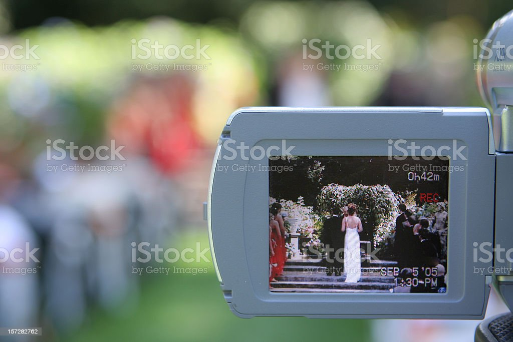 Wedding Cam View 3 Stock Photo & More Pictures of Adult - iStock