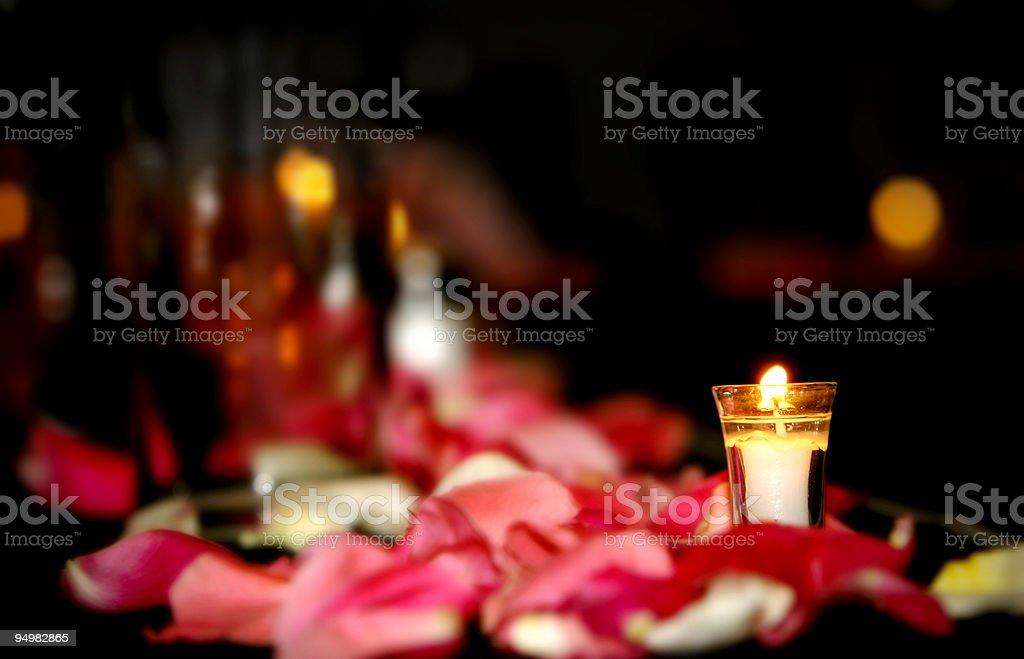 Wedding Candle stock photo
