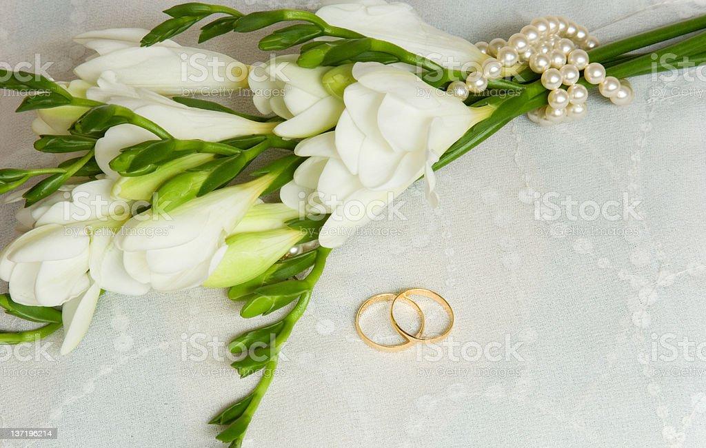 Wedding card royalty-free stock photo