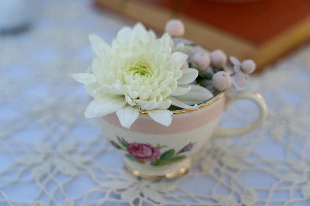 Wedding centerpiece Taken 2019 southern charm stock pictures, royalty-free photos & images