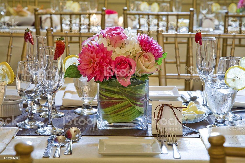 Wedding Centerpiece royalty-free stock photo