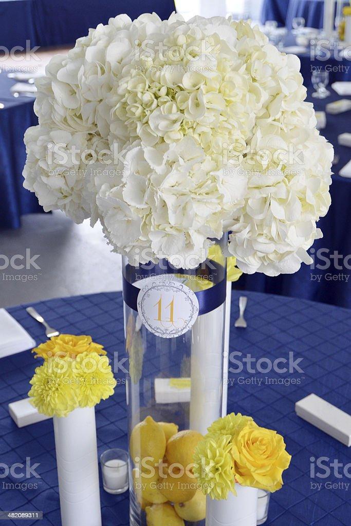 Wedding Centerpiece stock photo