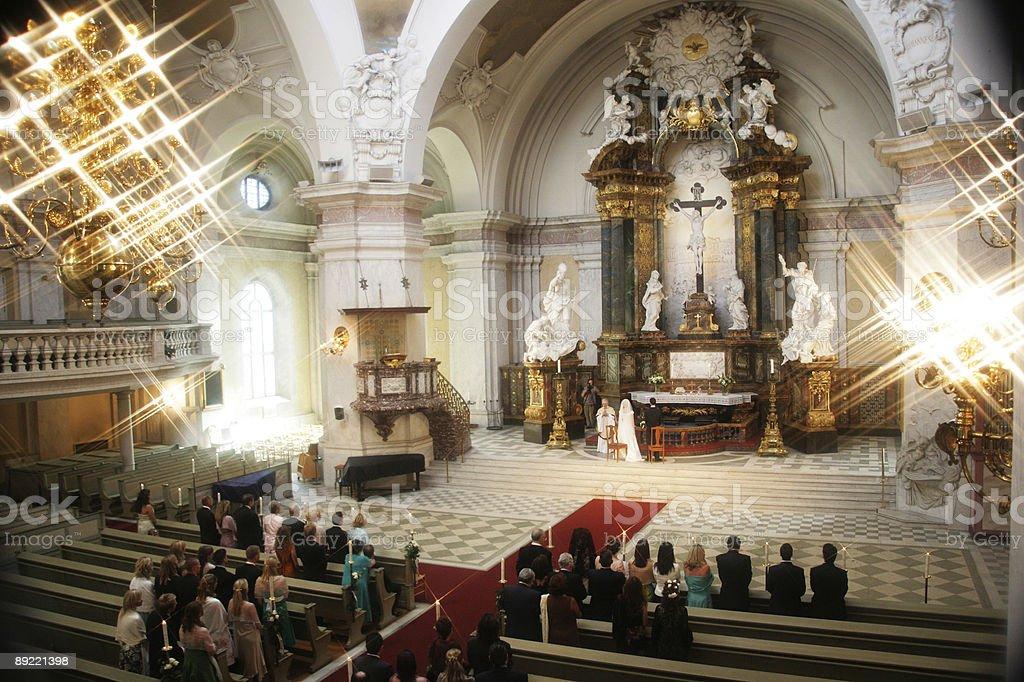 Wedding ceremoni royalty-free stock photo