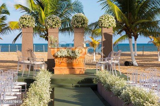 Wedding Ceremony, Brazil, Beach, Wedding, Altar