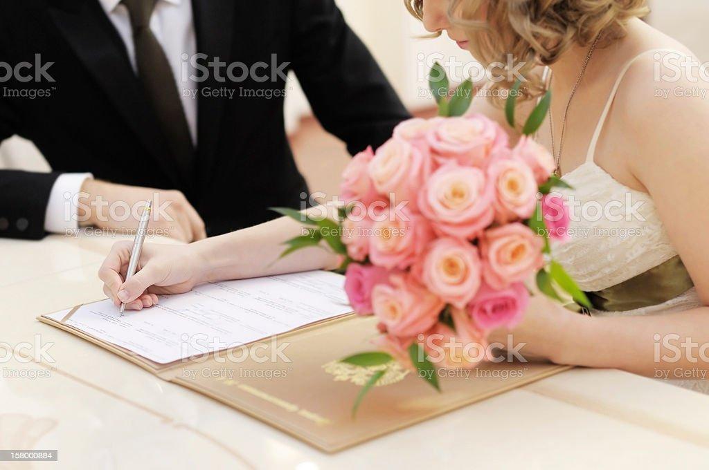 Ceremonia de boda - foto de stock