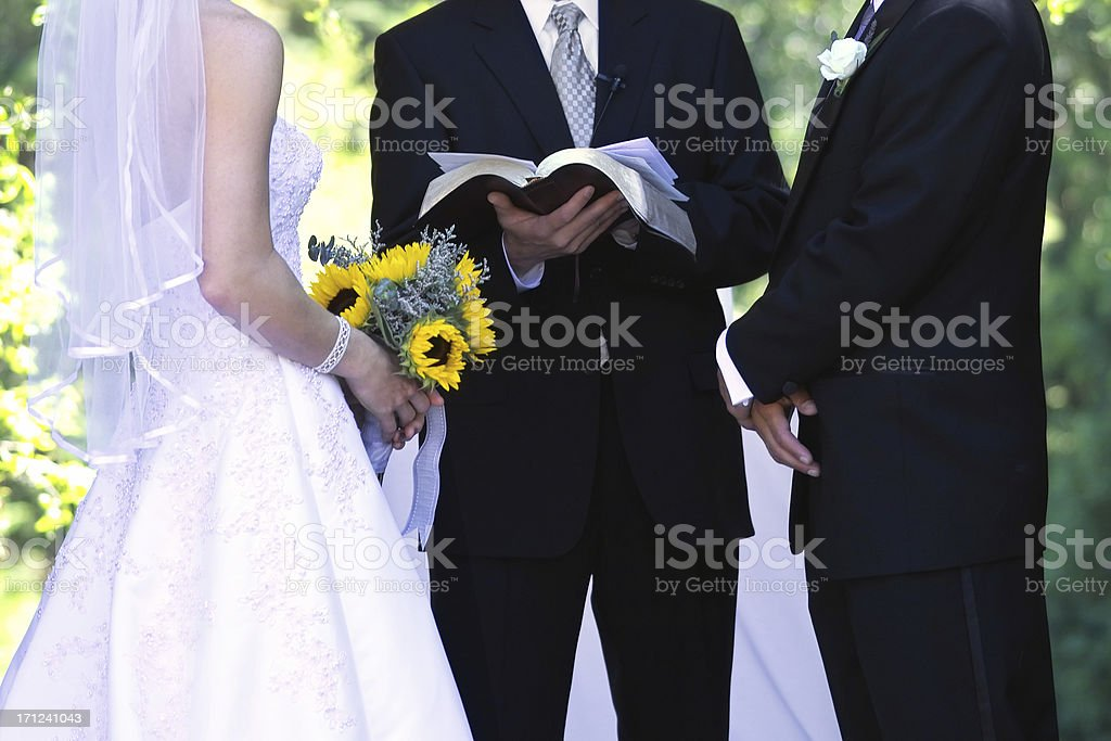 Wedding Ceremony stock photo
