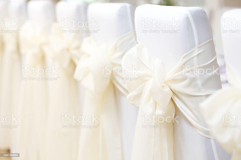 Chaises de mariage - Photo