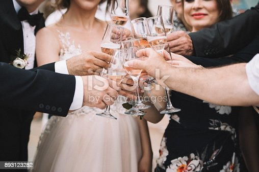 Champagne, Celebratory Toast, Engagement Ring, Wine, Event