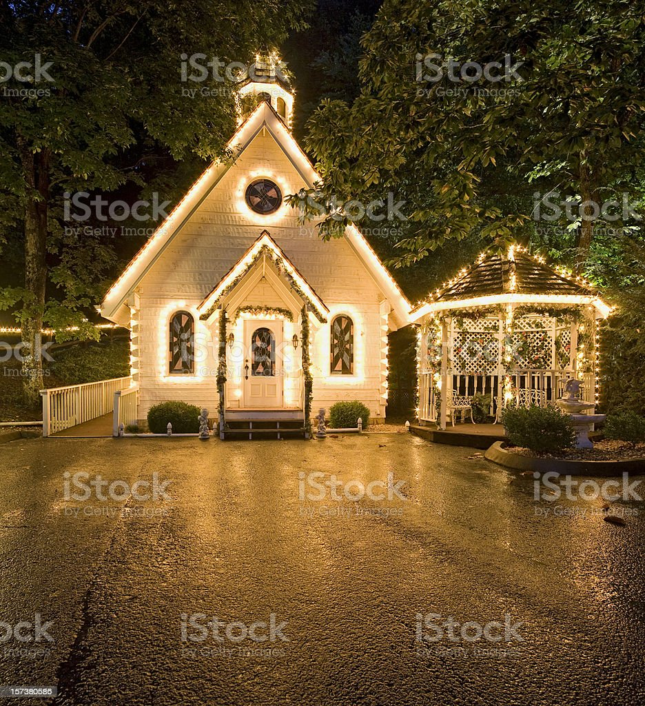 Wedding Chapel of Love Series royalty-free stock photo