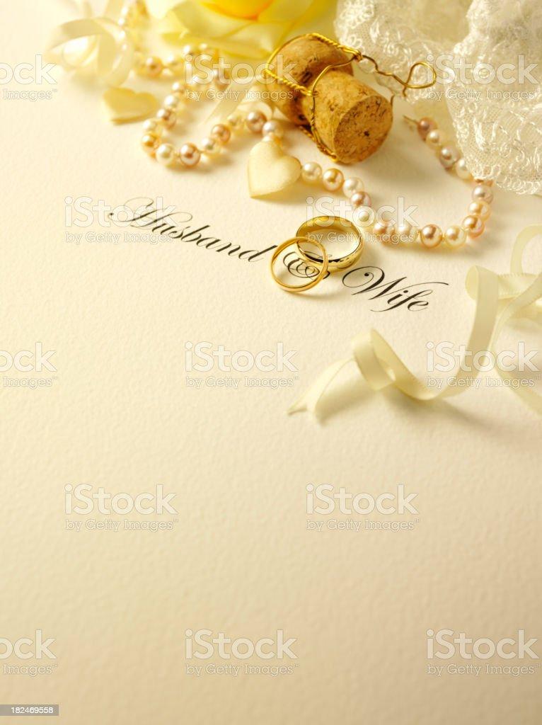 Wedding Corner royalty-free stock photo