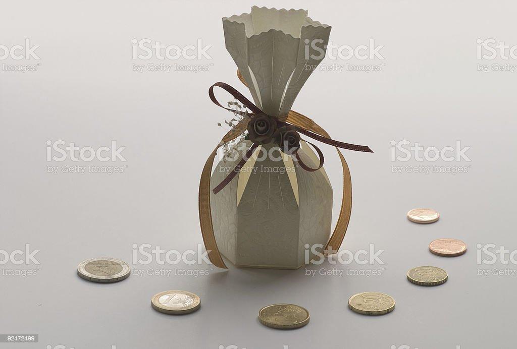 Wedding cost royalty-free stock photo